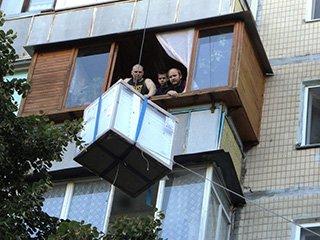 Доставка груза в окно в Киеве