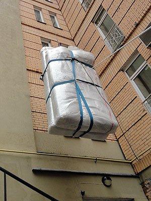 Подъем мебели на этаж цена киев