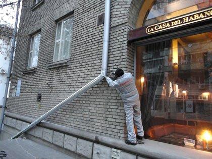 Водостоки металлические в Киеве